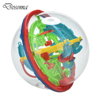 3D Magical Intellect Maze Ball Kids Children Balance Logic Ability Puzzle Game Educational IQ Trainer Game
