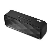 VeFly 4.2 bluetooth speaker Hi-Fi portable wireless box, Mp3 music player receiver audio FM radio with USB AUX TF boombox column