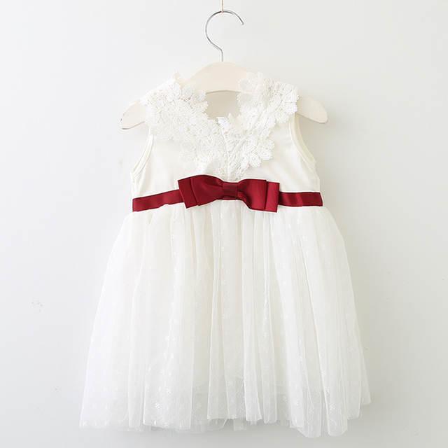 995ab29bca7 Online Shop Menoea 2019 New Summer Cute Baby girls clothes sleeveless  princess girls dress Ball of yarn Kids Clothes Children Party dresses