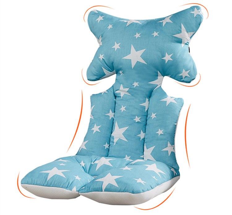 Azul rosa gris colores Pram espesar almohadilla para cochecito - Actividad y equipamiento para niños - foto 3