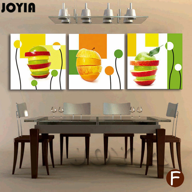 3 Piece Combination Wall Pictures Modern Painting Canvas