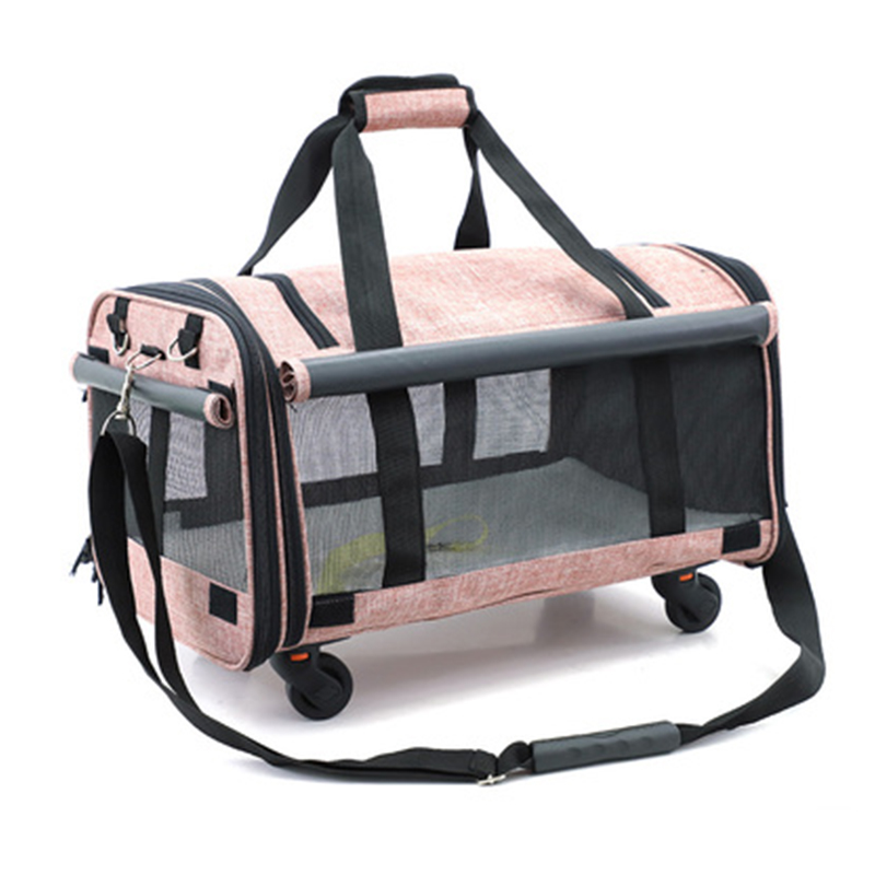 Pets bags Small animal universal wheel Luggage,Cat and dog outdoor rolling suitcase,Breathable Pet house travel bag pet box Pets bags Small animal universal wheel Luggage,Cat and dog outdoor rolling suitcase,Breathable Pet house travel bag pet box