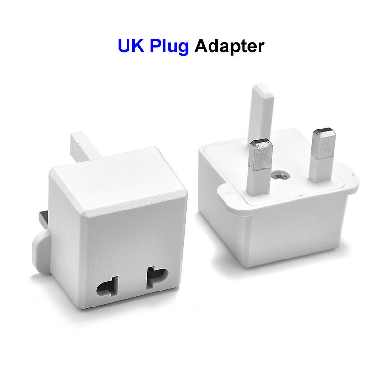 UK Power Plug Adapter Japan China US European EU To UK British Travel Plug Adapter AC Charger Converter Socket Electrical Outlet