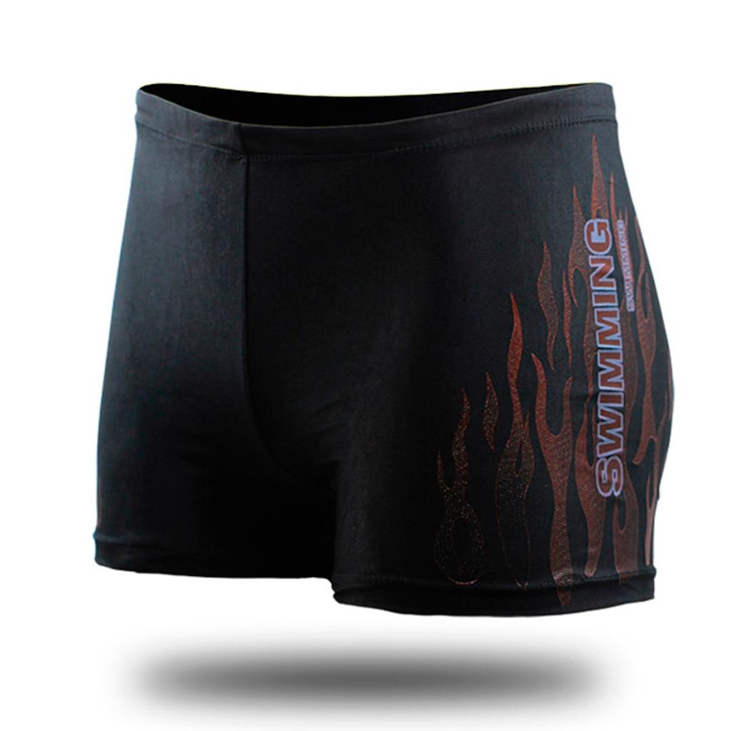 Мужские шорты для плавания быстросохнущие пляжные мужские короткие плавки быстросохнущие шорты для плавания для пляжа, серфинга, бега, плавания в воде#4 - Цвет: Красный