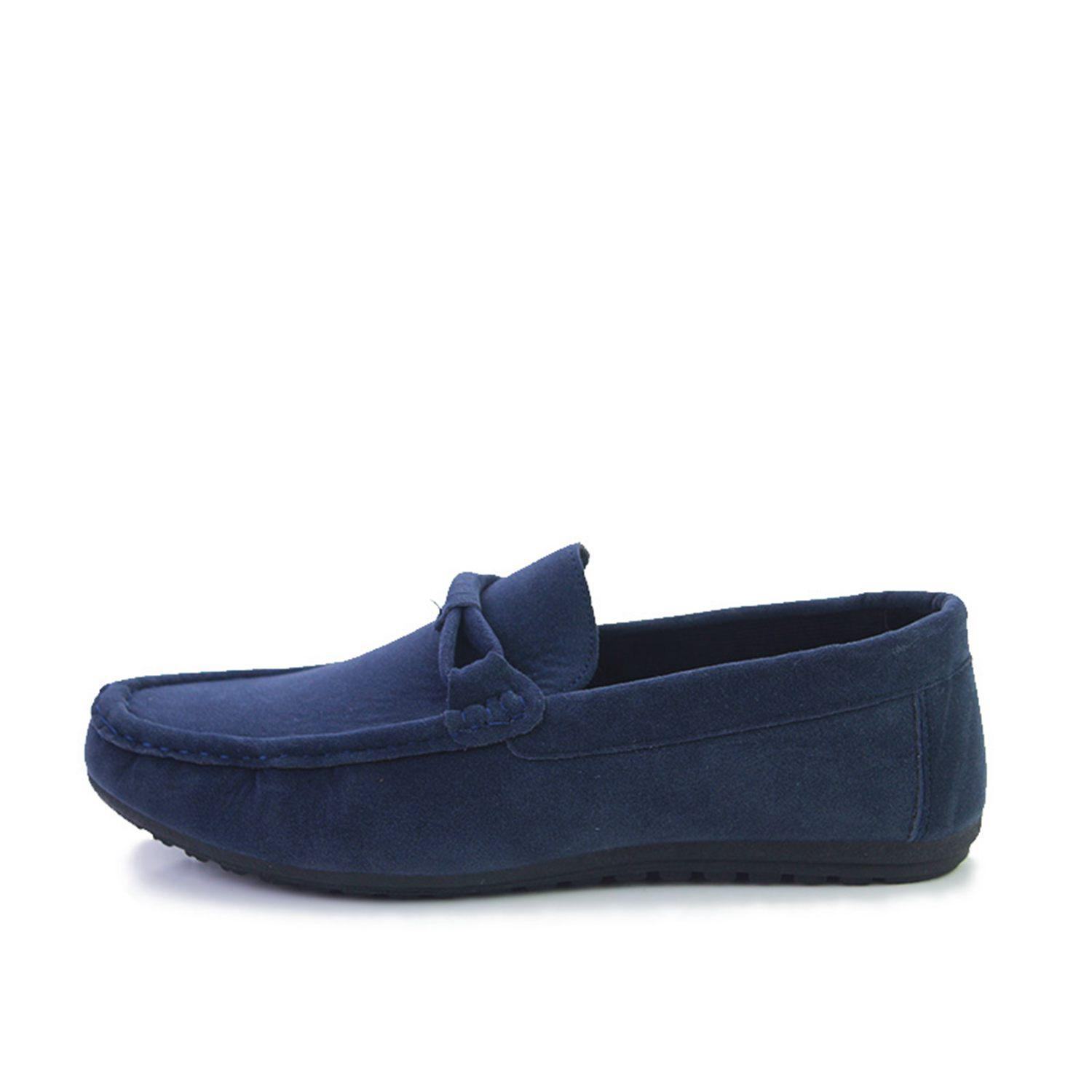 DCOS Suede Leather Men Flats New Soft Men Casual Shoes High Quality Men Loafers Flats Gommino Driving Shoes new handmade spring summer soft dough leather flats quality leather men loafers men moccasin casual shoes driving shoes