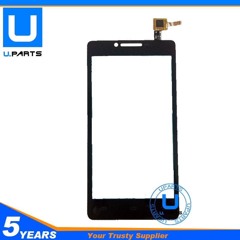 For Presitigio MultiPhone PAP 5500 PAP5500 Black Sensor Touch Screen Digitizer Panel 1PC/Lot