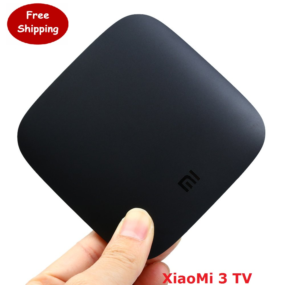 XiaoMi Mi tv box 3 Wifi Amlogic S905 64bit Quad Core 1GB DDR3 Android 5 0