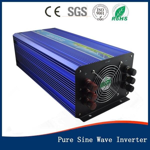 цена на Hot Sell 5000w pure sine wave inverter Off grid power inverter wind solar inverter DC24V/48V to AC100V/110V/120V/220V/230V/240V