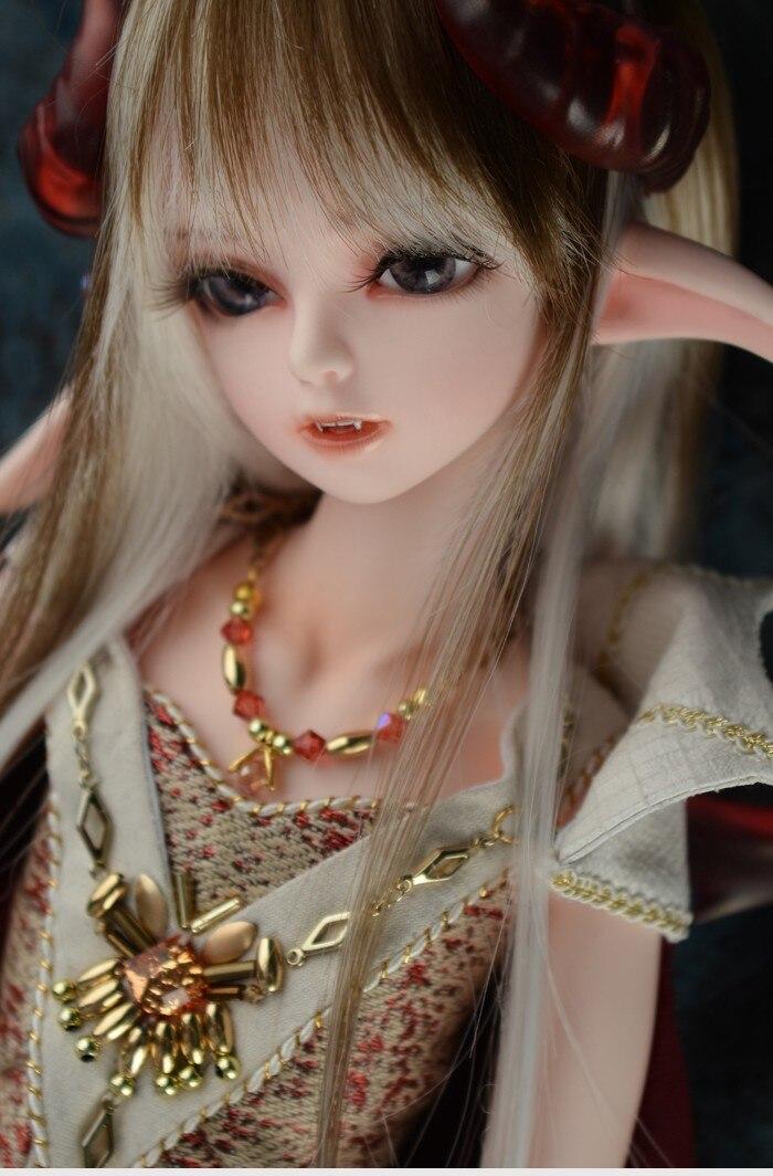 Luodoll Doll sd doll soom roxen 1/4 bjd fairy doll Black Fog Elves Free Shipping uncle 1 3 1 4 1 6 doll accessories for bjd sd bjd eyelashes for doll 1 pair tx 03