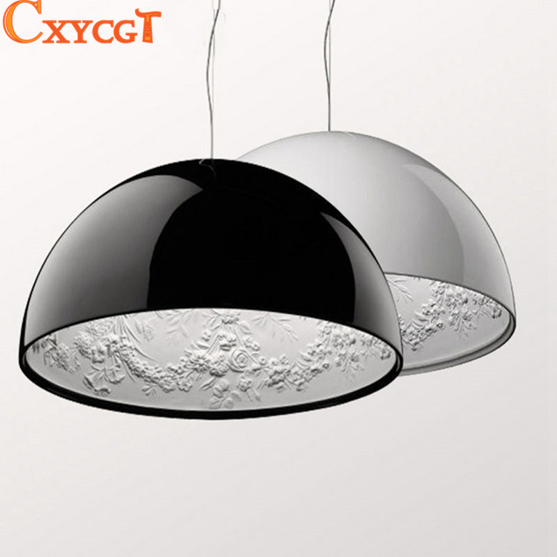 Black/White Pendant Lamp Sky Garden Chandelier Suspension Luminaire Best Decoration Lights Fixture For Bedroom Living Room