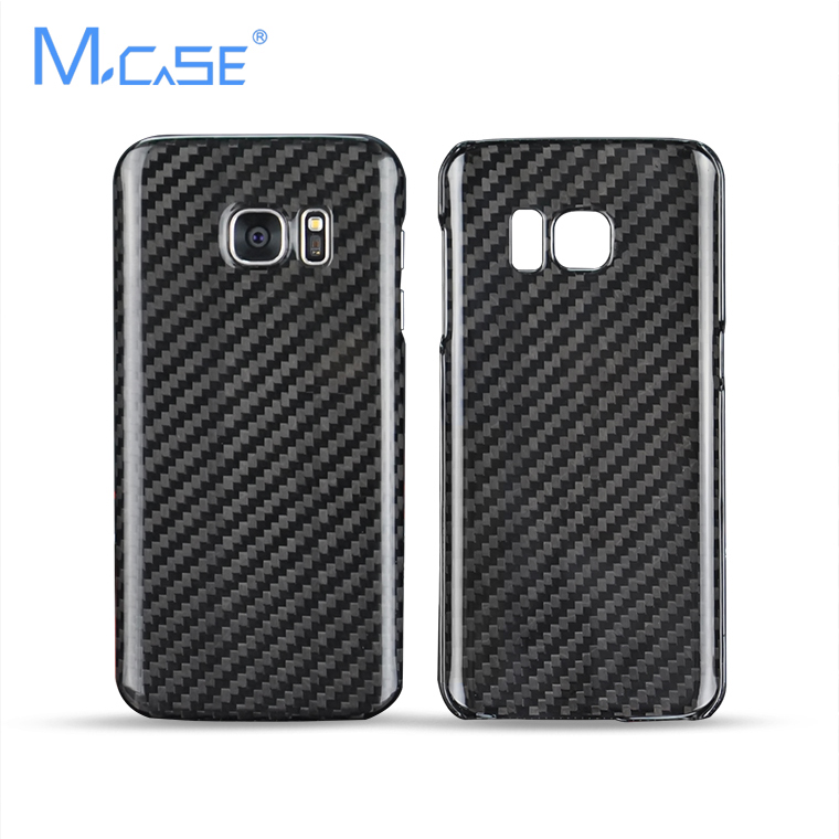imágenes para Mcase Nueva Manera de La Llegada Para Samsung Galaxy S7 G930 G930FD Genuino Cubierta de la Caja de Fibra de Carbono Cubierta de Fibra de Carbono