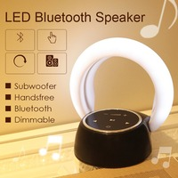 New Romantic Moon Bluetooth Speaker Table Lamp Cool LED Multicolor Decoration Night Light Portable Foldable Creative Gift