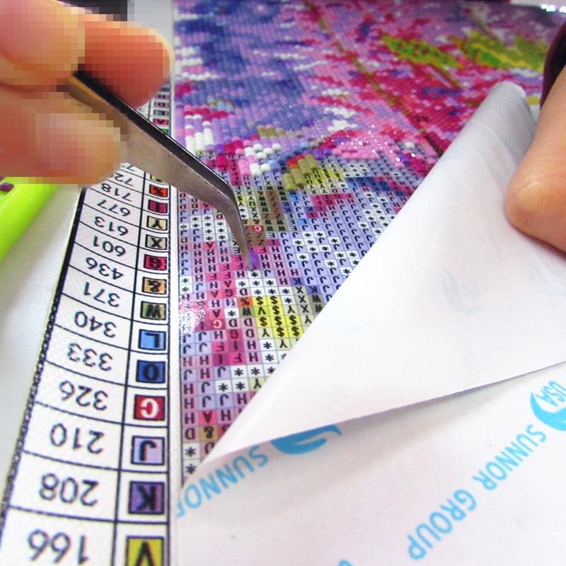 Diamond Embroidery Cat With Cash Pattern DIY 5D Diamond Painting Needlework Cross Stitch Full Drill Rhinestones Painting