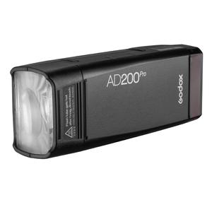 Image 5 - Godox AD200Pro Outdoor Flash Light 200Ws TTL 2.4G 1/8000 HSS 0.01 1.8s Recycling with 2900mAh Battery