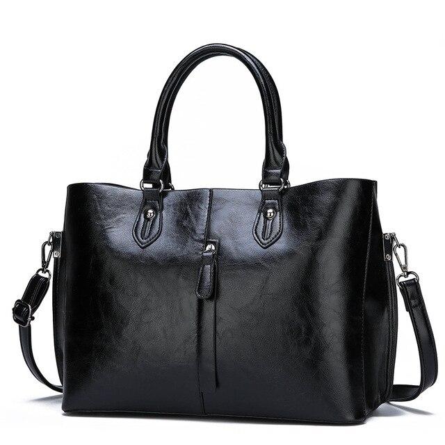 Genuine Leather Large Handbags