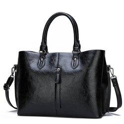 Bolsa de couro genuíno bolsas nova chegada moda de luxo feminina bolsa ombro sacos senhora grande capacidade crossbody saco mão c821