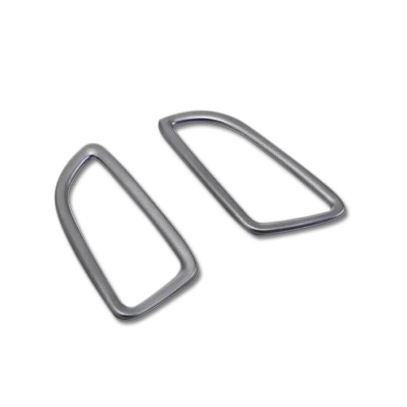 2015 2016 Voor Mercedes-benz Glc X205 Dashboard Bovenste Ac Air Vent Cover Trim Abs 2 Stks (links Hand Drive Alleen) Fijn Vakmanschap