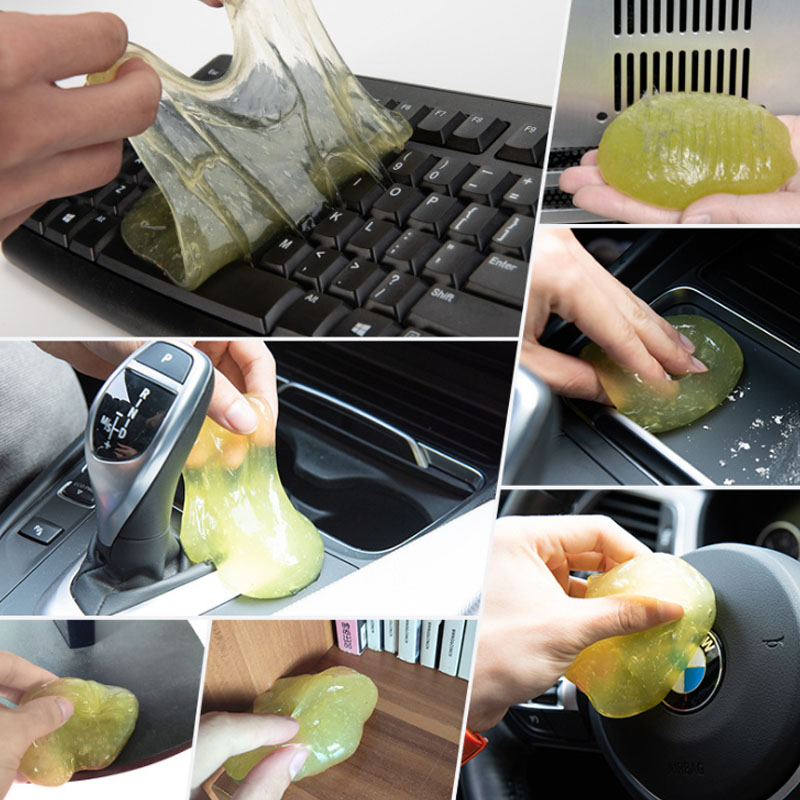 Cleaning Tool High Tech Magic Dust Cleaner Compound Super Clean Slimy Gel For Phone Laptop Pc Computer Keyboard