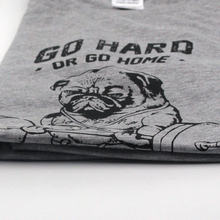 Go Hard Or Go Home Pug T-Shirt