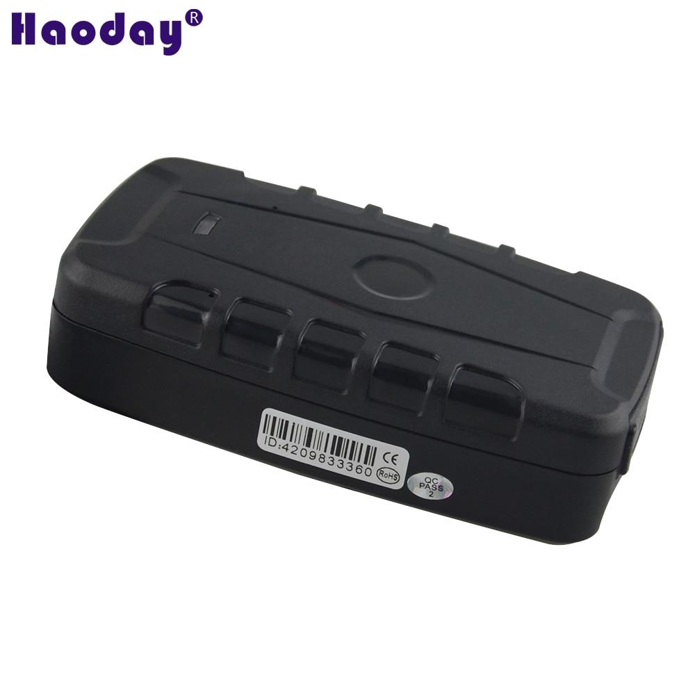 GPS Tracker LK330 Unchargeable 16000mAh Battery Dropped alarm car waterproof magnetic tracking device original Free APP platform