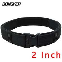 2 Inch Tactical Sport Belt Unisex Durable Canvas Duty Military Belt Men Outdoor Hunting Hiking Utility Adjustable Waistband 600d military tactical molle unisex clay dragon tactical belt durable canvas hunting material outdoor utility accessories