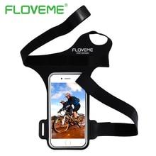 FLOVEME 5.5 дюймов Универсальный Повязку Чехол Для iPhone 6 6 S 7 Спорт Запястье Для Samsung Galaxy S6 S7 Край A5 A7 Телефон Сумка