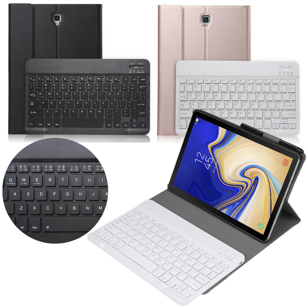 Bluetooth Keyboard Leather Case +Stand Tablets Keyboards Case Cover For 10.5 inch Samsung Galaxy Tab S4 T830