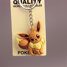 3D Anime Pokemon Go Figure Toys Keychain