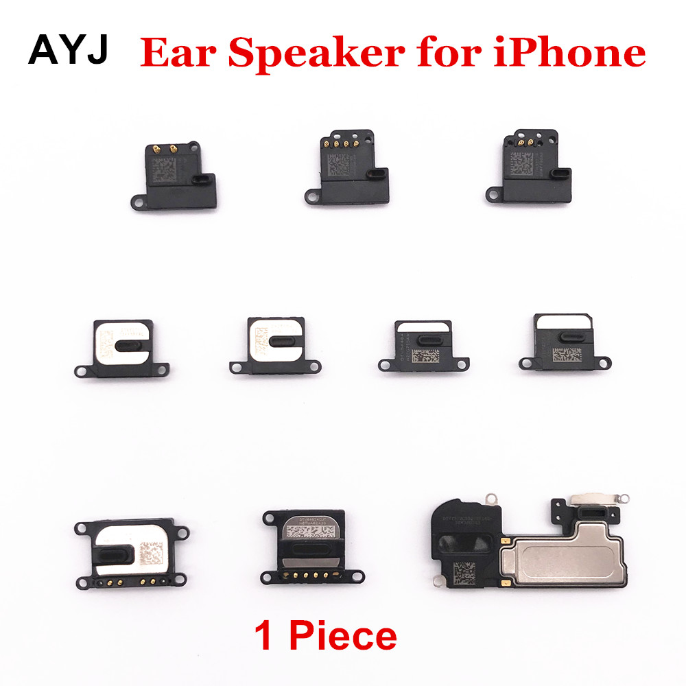 Earpiece Ear Speaker For IPhone 6 6S 7 8 Plus X XS Max XR Sound Receiver Flex For IPhone 5 5C 5S SE Listening Parts Tools Set