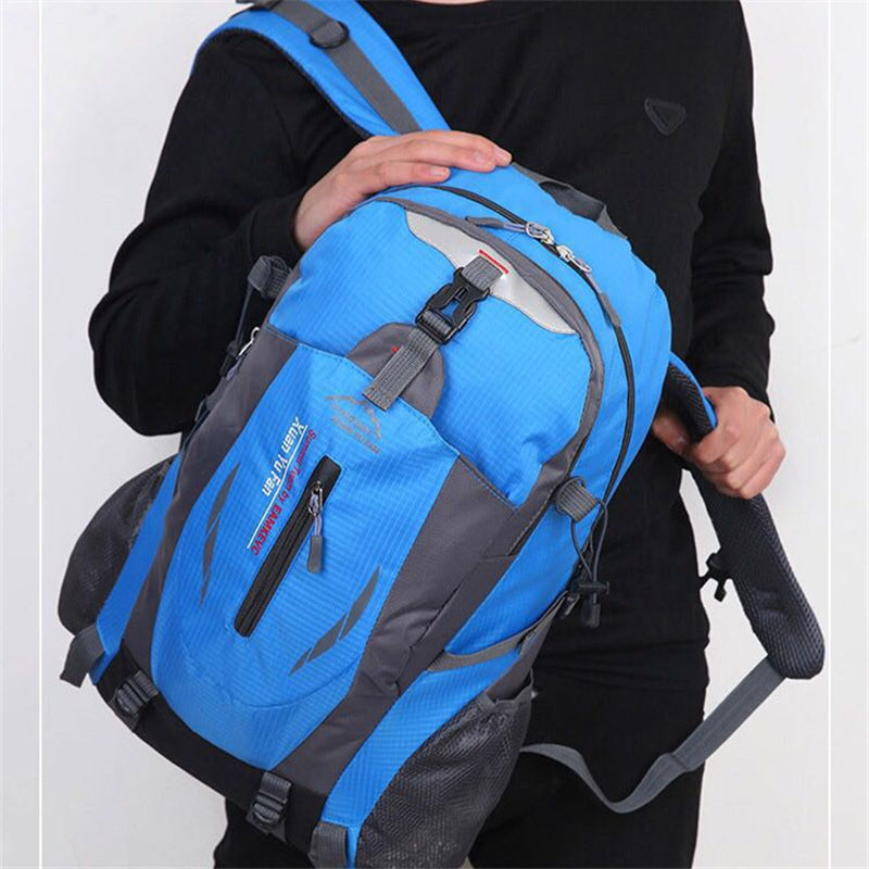2017 New Fashion Out Door Nylon Women men Bags Waterproof Travel Backpack Mochilas Rucksack High Quality Big Backpack