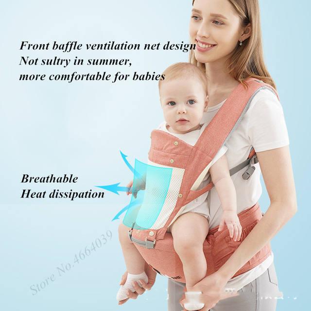 Mochila portabebés ergonómica – modelo Ratoncito