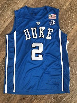 #2 Gary Trent JR Duke Blue Devils White College Throwback Basketball Jersey Customize an ...