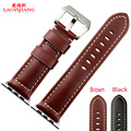 Laopijiang Leather watch straps Apple Watch Leather Watchband Iwatch watch strap leather belt with connector 38mm 42mm