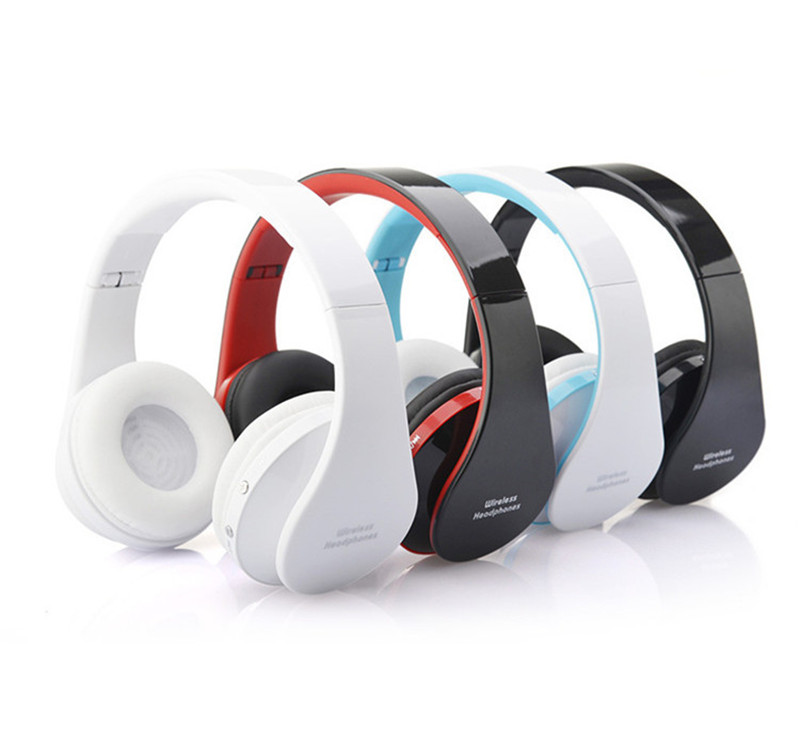 5pcs/lot Wireless Headphone Bluetooth Earphone Stereo Audio Mp3 Music Bluetooth Headset For iphone Android Smartphone