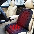 12 V Aquecida Capa de Almofada Do Assento Do Carro do Inverno Quente Quente Auto Calor Aquecimento Warmer Pad Preto Para Todos Os Carros