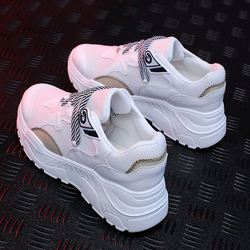 Women Sneakers Autumn Fashion Casual Shoes Woman Comfortable Breathable Flats Female Platform Sneakers Chaussure Femme 2