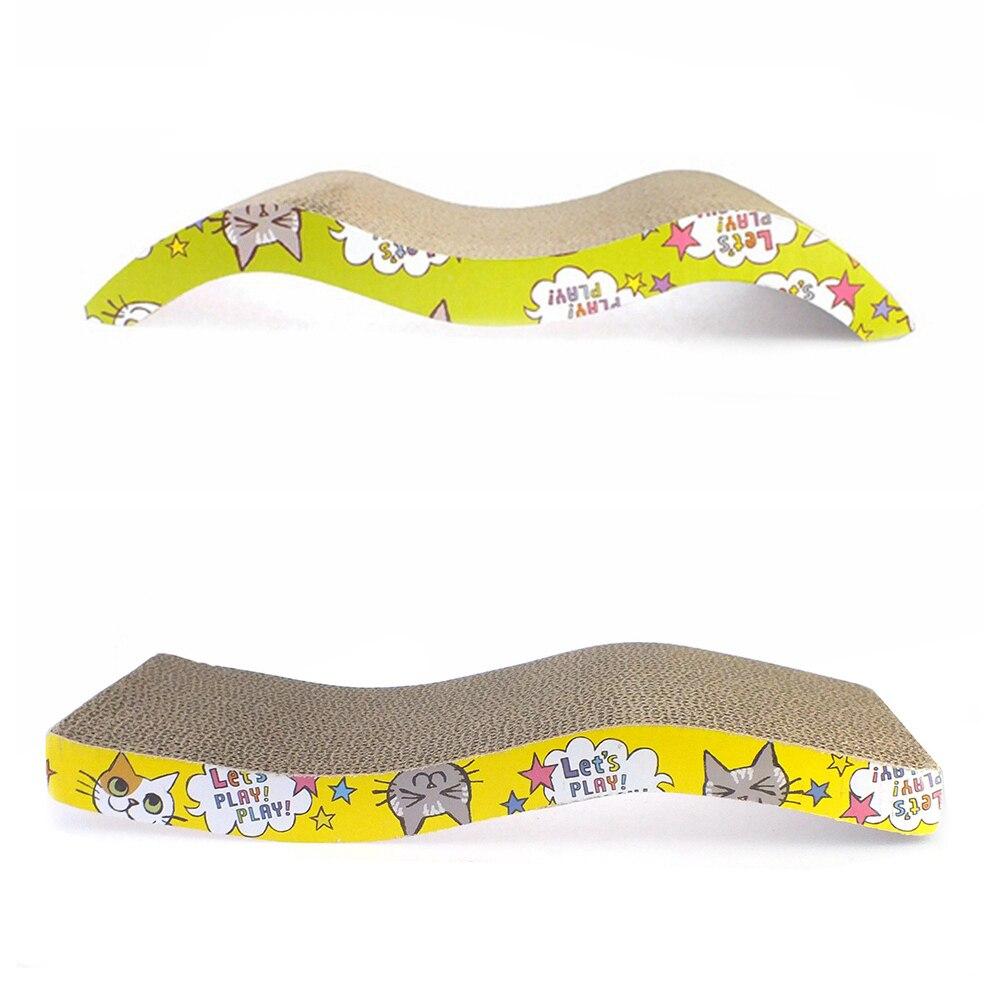 Cat Mint Toy Cats Scraper Scratches Toys Board Supplies Cat Scratcher Catnip Furniture Kitten Claws Scratch Scratching Ly0017 #3