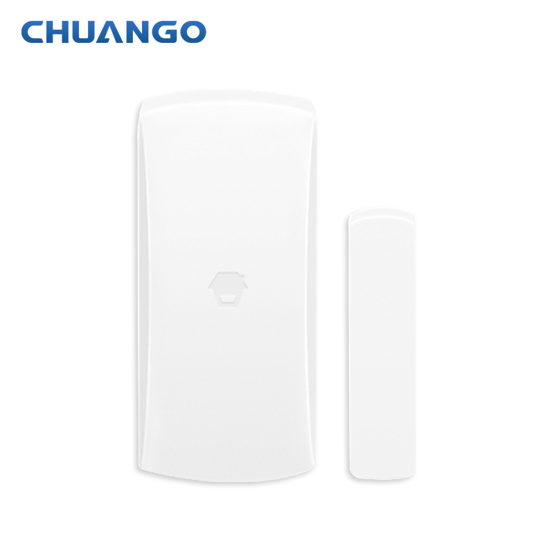 Original Chuango DWC-102 315MHz Wireless Window Door Sensor Detector For Home Wireless Alarm System forecum 433mhz wireless magnetic door window sensor alarm detector for rolling door and roller shutter home burglar alarm system