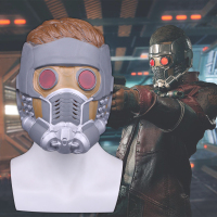 Guardians of the Galaxy Mask Full head With Hair Cosplay Peter Quill Helmet Latex Star Lord Helmet Halloween Party Mask Adults