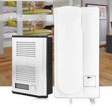 BF-3206B квартира домашней безопасности домофона аудио дверной звонок, 2-проводной домофонная система функция разблокирования