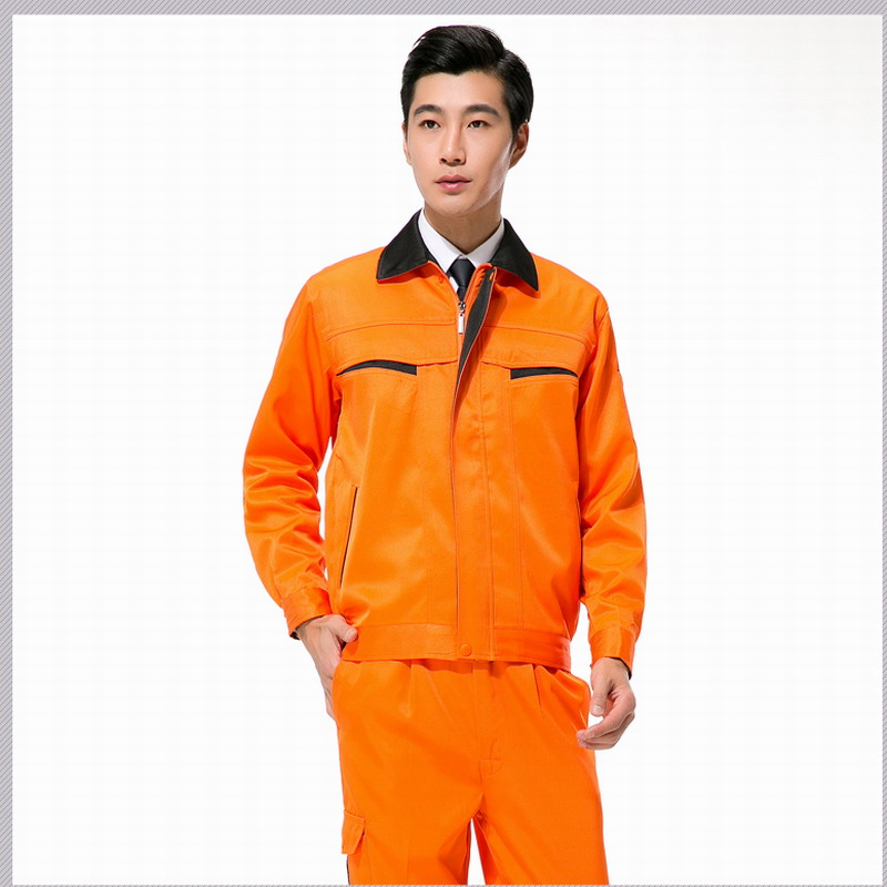Spring and autumn work wear set male protective clothing work wear overalls work clothes set