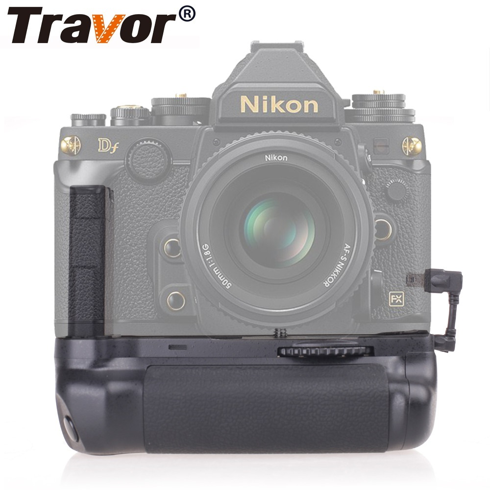 Travor Camera Accessories Battery Grip Holder Pack For Nikon DF DSLR Camera Work With EN-EL14A Battery