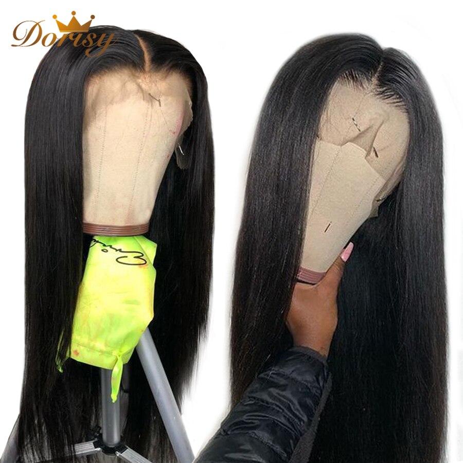 Lace Front Human Hair Wig Lace Front Hair Wigs Peruvian Human Hair Wigs Natural Color Dorisy