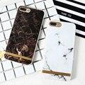 KISSCASE Мраморный Камень Шаблон Телефон Case Для iPhone 7 For iPhone 7 плюс Coque Мягкий ТПУ Силиконовый Чехол Для iPhone 7 7 Plus Fundas