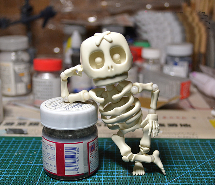 GULUO acition figure Skull model toys bjd doll diy adult toys Skull Joint dolls collection of