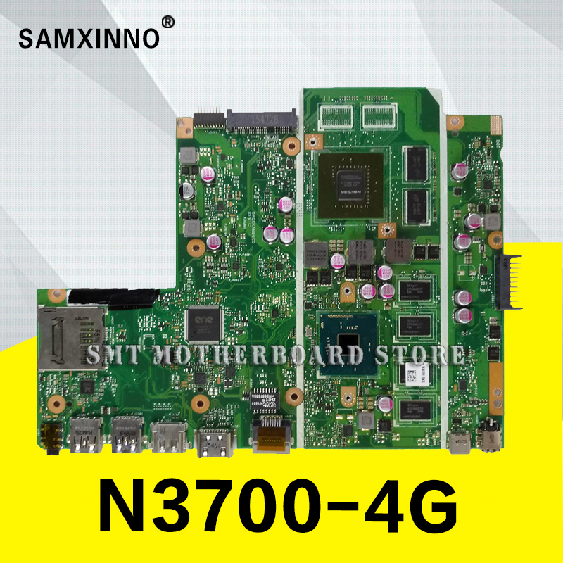 X540SC MB._4G/N3700  V1G  90NB0B20-R00020 motherboard For Asus X540S X540SC Laptop motherboard MainboardX540SC MB._4G/N3700  V1G  90NB0B20-R00020 motherboard For Asus X540S X540SC Laptop motherboard Mainboard