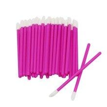 1000PCS Disposable Lip Brush Wholesale Rose Gloss Wands Appl