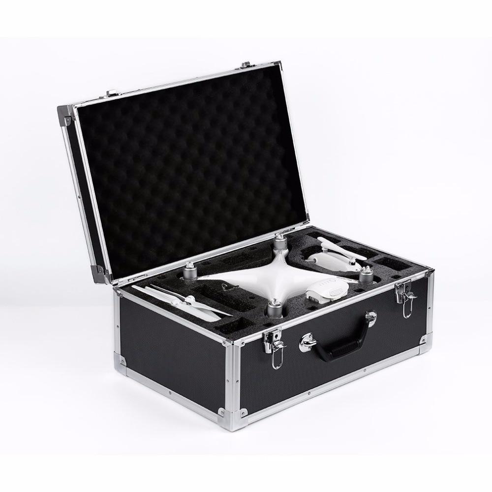 Black DJI Phantom 4 Carrying Hard Case Trolley for DJI Phantom 4 квадрокоптер dji phantom 4 pro