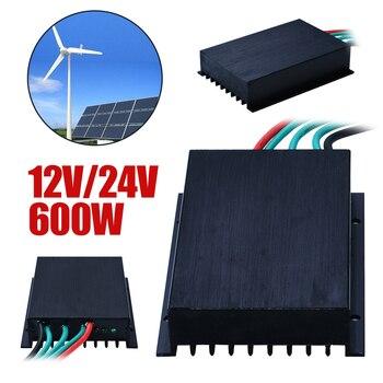 12/24V 600W LED Wind Turbine Generator Charge Controller Plastic Waterproof Regulator Controllers