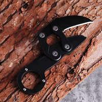 Охотничий нож CS GO тактический нож с когтями для шеи походы в горы Открытый Самозащита атака и защита охотничий нож для выживания
